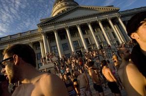 Undie run in Utah: Undie run in Utah