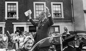 Harold Macmillan in London