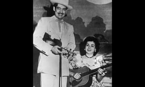Wilma Lee Cooper and Stoney Cooper in the 1950s