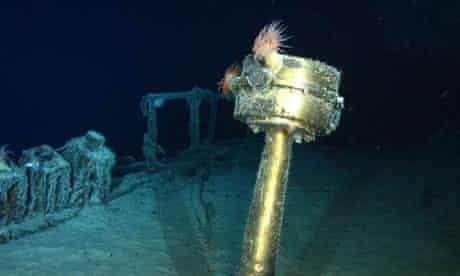 SS Gairsoppa stern compass