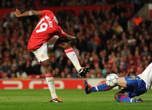 Champions League Tuesday: Danny Welbeck scores the first Manchester United goal against Basel