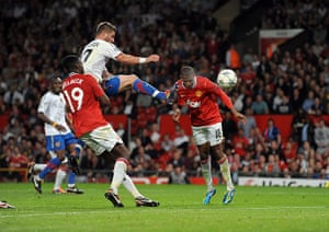 Champions League Tuesday: Ashley Young scores for Manchester United against Basel
