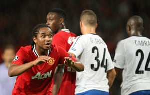 Champions League Tuesday: Anderson tries to distract the Sommer in the Basel goal at a free-kick