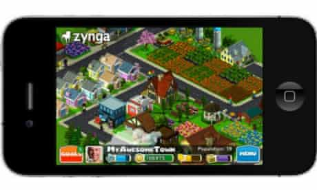Zynga CityVille for iPhone