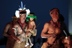 24 hours in pictures: Pataxo Hahahae Indians from Bahia state, Brazil