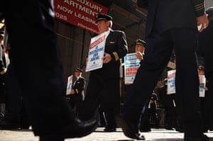24 hours in pictures: Pilots protest in New York