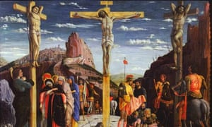 Calvary Christ on the Cross by Andrea Mategna
