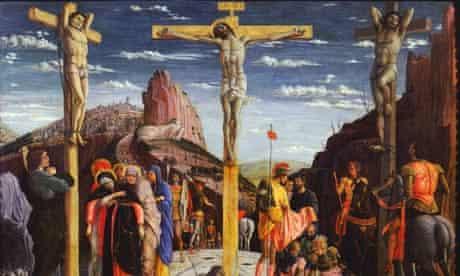 Calvary Christ on the Cross by Andrea Mategna