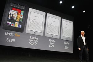Kindle Fire: Three new Kindle models and the new tablet called the Kindle Fire