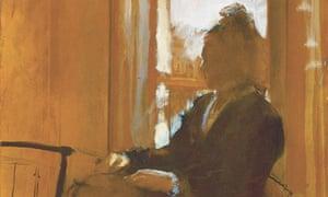 Degas' Woman at the Window