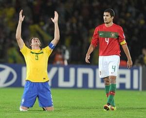Players in Fifa 12: Brazilian defender Bruno Uvini
