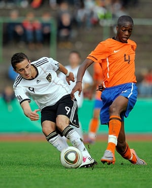 Players in Fifa 12: Terence Kongolo of the Netherlands