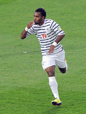 Players in Fifa 12: French forward Alexandre Lacazette