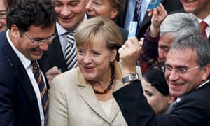 German Chancellor Merkel