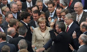 German Parliament votes on Greek rescue package