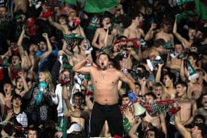 Europa League: Rubin Kazan fans