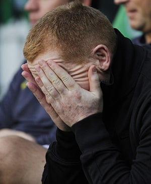 Europa League: Celtic manager Neil Lennon at their Europa League match against Udinese