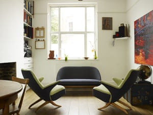 Brixton house: Brixton house: living and dining space