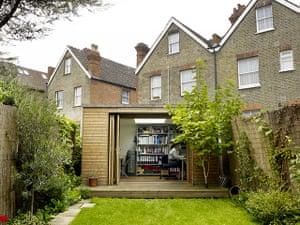Brixton house: Brixton house: garden room