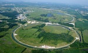 Tevatron accelerator at Fermilab, Chicago