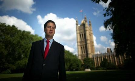 The Labour Leadership Contest Portraits - Ed Miliband