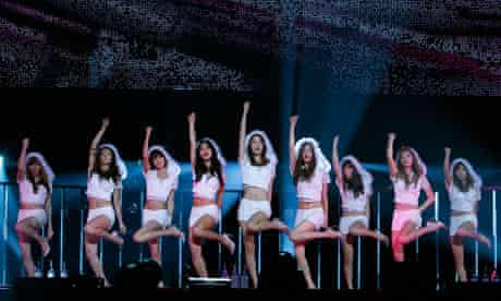 girls' generation k-pop south korean girlband