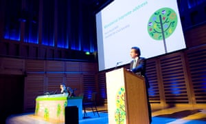 Nick Hurd MP at last year's Guardian Social Enterprise Summit.
