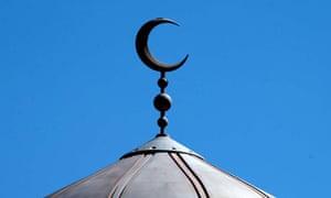 mosque crescent islam