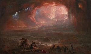 The Destruction of Pompeii and Herculaneum by John Martin (restored)