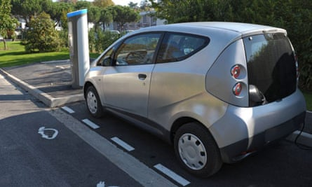 Autolib Bluecar