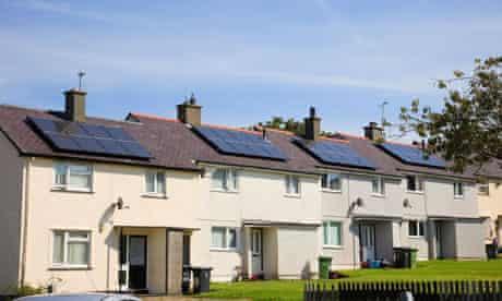 UK boom in solar panels