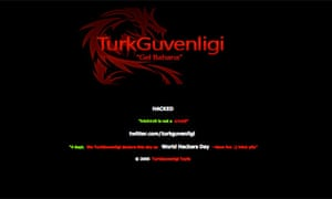 Turkish hacker group diverts users away from high-profile