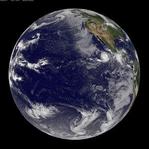 Satellite Eye on Earth: Hurricane Eugene