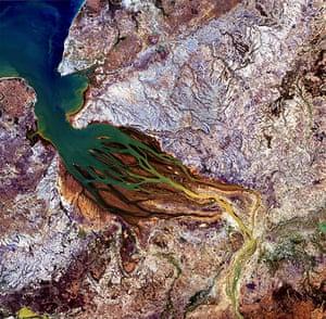 Satellite Eye on Earth: The Betsiboka estuary in northwest Madagascar