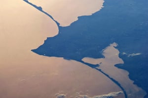 Satellite Eye on Earth: Two great lagoons to the north and south of Kaliningrad, Russi