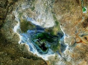 Satellite Eye on Earth: This satellite image shows Lake Sulunga in central Tanzania