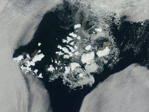 Satellite Eye on Earth: Franz Josef Land in the northeastern Barents Sea, Russia