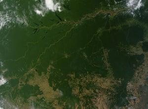 Satellite Eye on Earth: Amazon