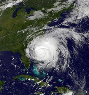 Satellite Eye on Earth: Hurricane Irene