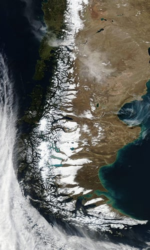 Satellite Eye on Earth: Chile's Puyehue-Cordón Caulle Volcanic Complex