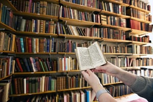 Working Class library: Project Librarian Jane Taylor with the oldest book in the collection