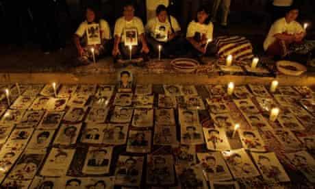 Vigil for Fujimori'a victims