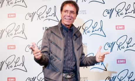 British musician Sir Cliff Richard atten