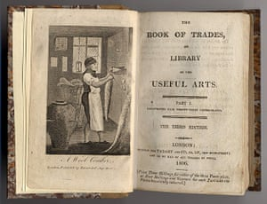 Working Class library: Frontispiece from The Book of Trades or Library of the Useful Arts, 1806