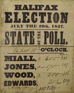 Working Class library: A State Of The Poll from the election in Halifax in 1847