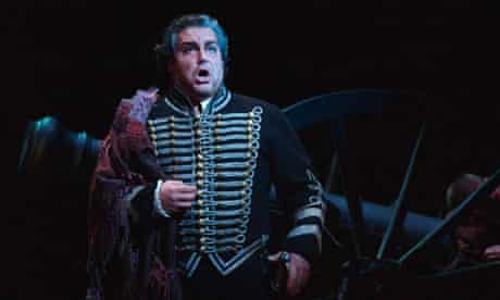 Salvatore Licitra at the Royal Opera House in Covent Garden, London