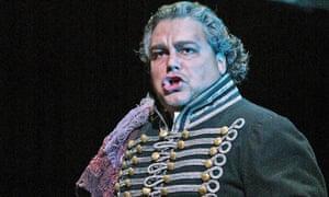 Salvatore Licitra as Alvaro in La Forza del Destino at the Royal Opera House in 2005