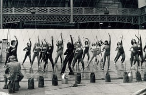 Archives Awareness: A demonstration at the first Festival of Mind and Body Olympia April 1977.