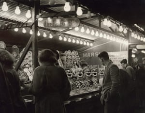 Archives Awareness: Amusements at the fair ground in May 1956.