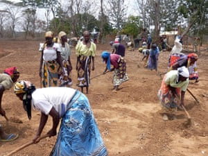 Women farmers, Kitui, eastern Kenya